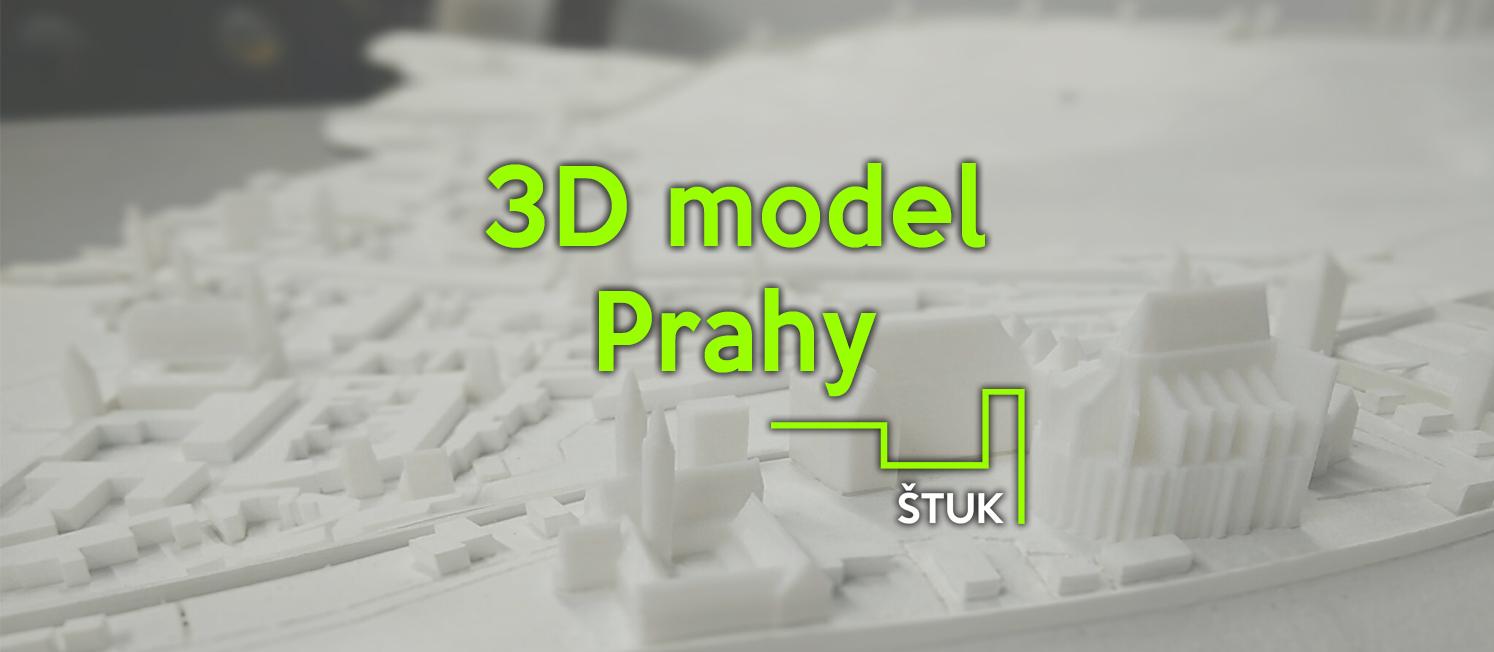 3D model prahy