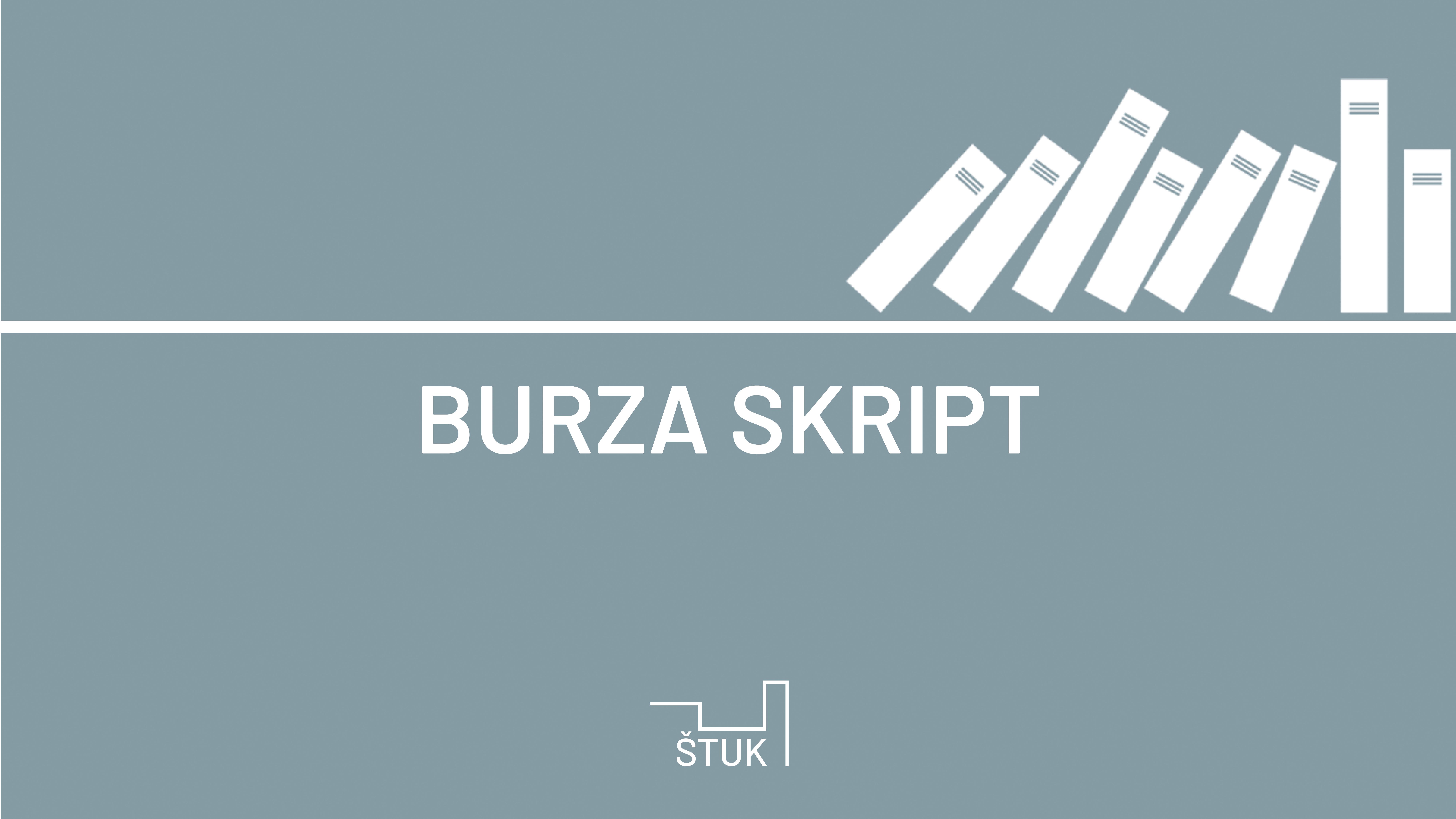 AKTUÁLNĚ: Burza skript a materiálu